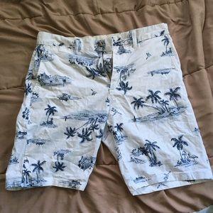 Men's tropical shorts